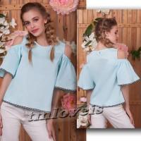 Ультрамодные топовые блузка и рубашка для девочки. 7-16лет. Блузочка