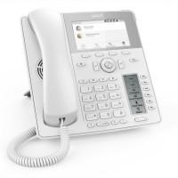 Snom D785 White, sip телефон 12 SIP линий, Ethernet-порт, широкополосный звук, PoE