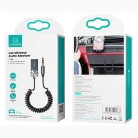 Беспроводной аудиоадаптер ресивер Usams US-SJ464 Встроенный микрофон USB aux гарнитура