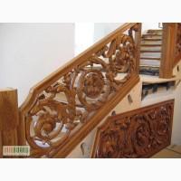 Авторские Лестницы с резьбой по дереву и без,мебель,витражи