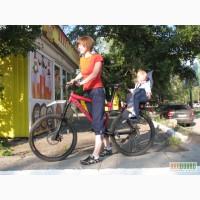 Детское велокресло на багажник любого велосипеда
