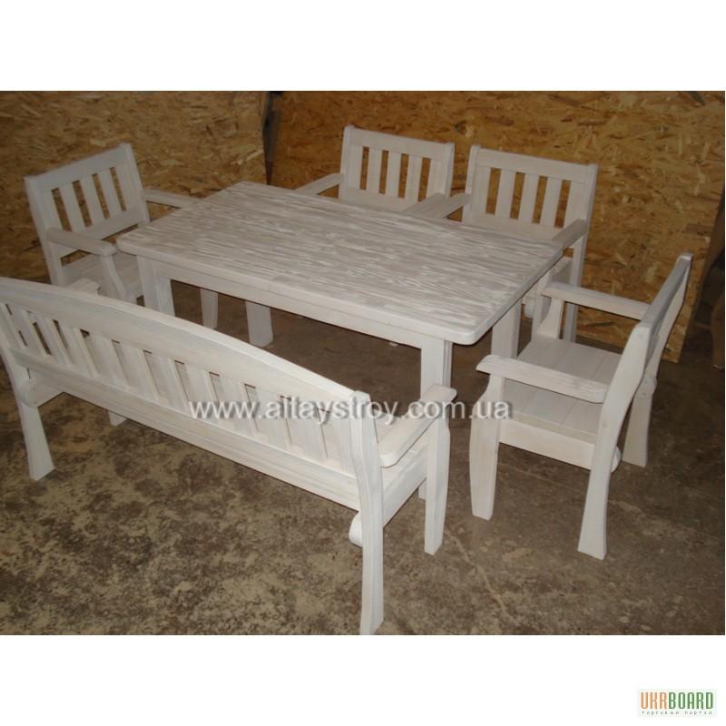 Скамейка для кухни из дерева