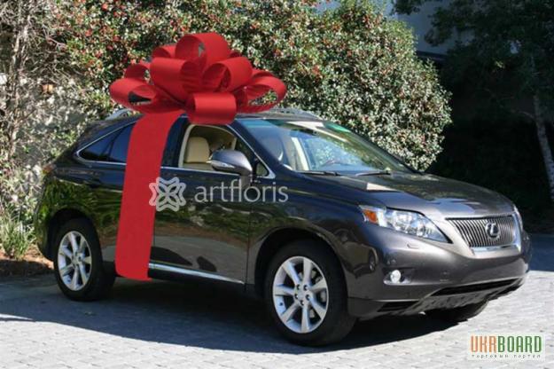 1df590bf76ae Большой подарочный бант на машину, упаковка габаритных подарков ...