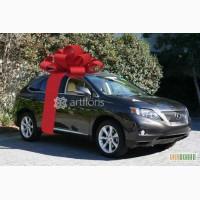 Большой подарочный бант на машину, упаковка габаритных подарков,