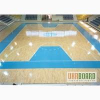 Спортивный паркет для баскетбольных арен