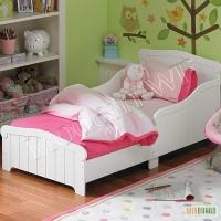 Детская кровать Белоснежка из натурального дерева