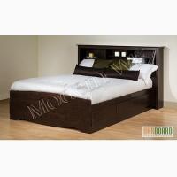 Двухспальная кровать Марко из натурального дерева