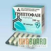 Триптофан(Беларусь) 200мг №30