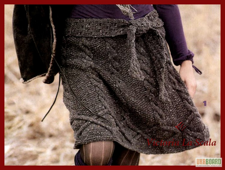Вязаная юбка спицами. юбки. Красота и в то же время, теплая вещь. Несложные узоры