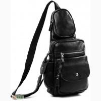 Продается кожаный мультифункциональный мужской рюкзак на моношлейке