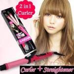 Плойка для волос с выпрямителем 2 в 1 Straight Curl, Стрейт Курл