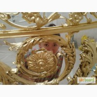 Золочение лепнины, укладка сусального золота