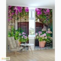 Фотошторы Цветы 3D от компании Svit kulumiv