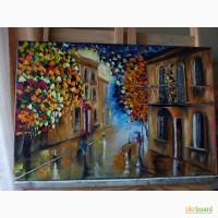 Картина маслом Осінь 40х60