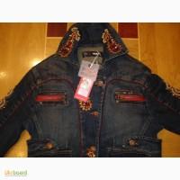 Новая джинсовая куртка итальянской фирмы Taglia42