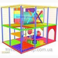 Детские игровые лабиринты до 20 м2