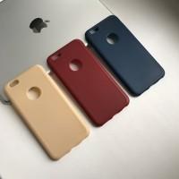 Силиконовый чехол под кожу с вырезом на iPhone 6/6S