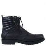Высокие кожаные ботинки берцы Freemood Nero Италия