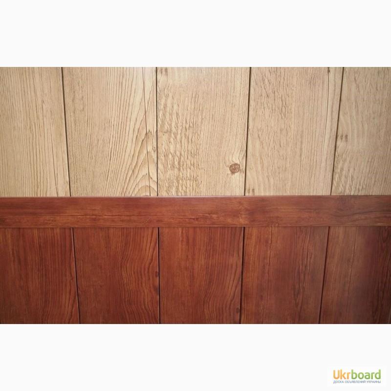 Фото 6. Профнастил с рисунком дерева, камня, кирпича купить