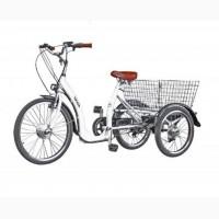 Электровелосипед трехколесный грузовой HAPPY VIP + реверс
