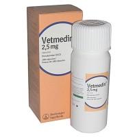 Ветмедин 2, 5 мг 100 капсул, кардиостимулятор для собак