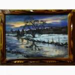 Картины автора (серия)-Природа-пастель А4
