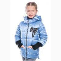 Демисезонная куртка-жилетка для девочки Сан разные цвета с 116-146 р