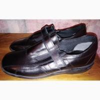 Кожаные туфли Clarks, 39-40р