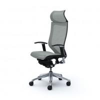 Эргономичное кресло OKAMURA CP polished-mech-Light Grey