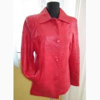 Модная оригинальная женская кожаная куртка. Лот 114
