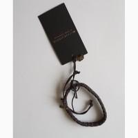 Брендовый кожаный браслет maison scotch, нидерланды