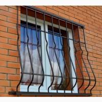 Решетки металлические на окна накладные
