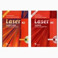 Новый Комплект Laser A2 - class book + student#039;s book Есть все уровни