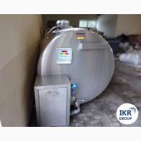 Охладитель молока Б/У Frigomilk 4000 закрытого типа объемом 4000 литров
