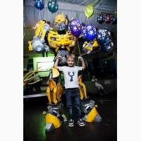 У нас вы можете Пригласить огромного робота Бамблби на мероприятие в Киеве