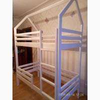 Двухъярусная кровать-домик 4500 грн