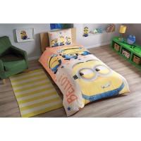 Детская полуторная постель миньон Посипаки Постельное белье Tac Disney Minions Bello