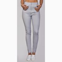 Лосины, брюки рабочие белые женские