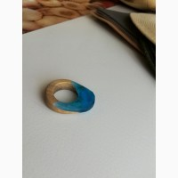 Кольцо Аквамарин