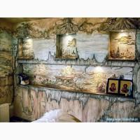 Креатив декоративными венецианскими штукатурками Львов, Киев от Александра Слабецкого
