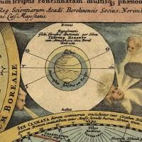Подарок Директору - Настенная карта мира двух полушарий для кабинета