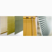 Алюминиевые жалюзи на окна. Тканевые, деревянные жалюзи.Выбор большой Буча, Ирпень