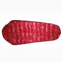 Облегченный пуховый спальный мешок кокон на рост до 170 см