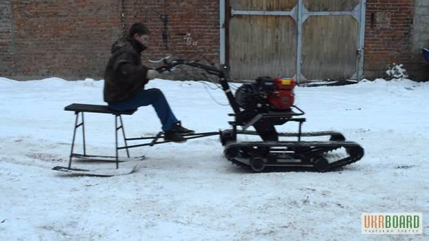 Снегоходы с мотоблока - Самодельные снегоходы из мотоблока Видео