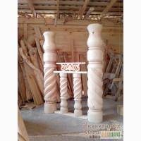 Столбы опорные деревянные в Харькове