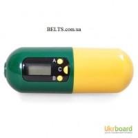 Удобный контейнер для таблеток с таймером «Напоминатель»