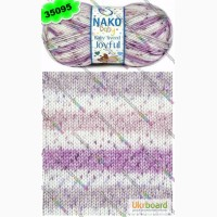 Пряжа Nako Baby Tweed Joyful