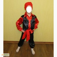 Карнавальный костюм Цыгана, Пирата, Снегирь на 4-6 лет