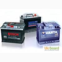Автомобильные аккумуляторы: Varta, Medalist, Exide, Bosch, Kraftwerk