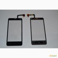 Тачскрин touch screen сенсор (сенсорное стекло) для Fly IQ4416 (черный, белый, самоклейка)
